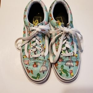Vans Toy Story Andy Shoes sz 5
